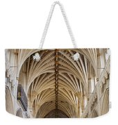 Exeter Cathedral And Organ Weekender Tote Bag