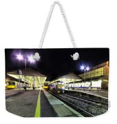 Exeter St Davids By Night  Weekender Tote Bag by Rob Hawkins