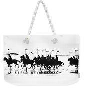 Exhibition Platoon Of The 11th U.s. Cavalry On Del Monte Beach Monterey California 1935 Weekender Tote Bag