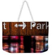Exit Park Weekender Tote Bag