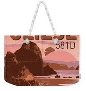 Exoplanet 01 Travel Poster Gliese 581 Weekender Tote Bag by Chungkong Art
