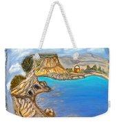Exotic Beach Near Limassol Weekender Tote Bag