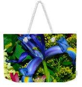 Exotic Blue Weekender Tote Bag
