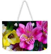 Exotic Flowers Weekender Tote Bag