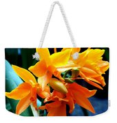 Exotic Orange Weekender Tote Bag
