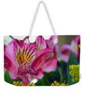 Exotic Pink Weekender Tote Bag