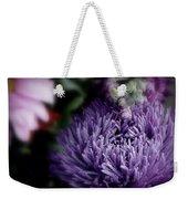 Exotic Purple Flower Weekender Tote Bag