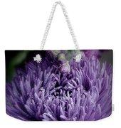 Exotic Purple Flower Two Weekender Tote Bag