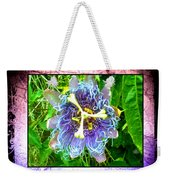 Exotic Strange Flower Weekender Tote Bag