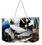 Expedition Great White Crew Conducts Weekender Tote Bag