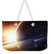 Expedition To A Saturn-like Planet Weekender Tote Bag