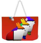 Experimental Weekender Tote Bag