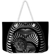 Exploration Into The Unknown Bw Weekender Tote Bag