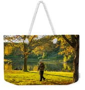Exploring Autumn Light Weekender Tote Bag by Steve Harrington