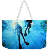 Exploring New Worlds Weekender Tote Bag