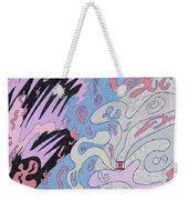 Explosion In Space Weekender Tote Bag