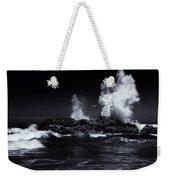 Explosion Weekender Tote Bag by Mike  Dawson