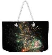 Explosion Of Color On Canada Day Weekender Tote Bag
