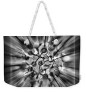 Explosive Abstract Black And White By Kaye Menner Weekender Tote Bag