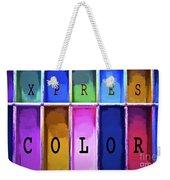 Express Color Weekender Tote Bag