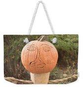Expressive Pumpkin Weekender Tote Bag