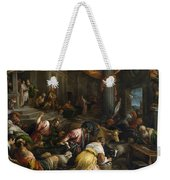 Expulsion Of The Merchants From The Temple Weekender Tote Bag