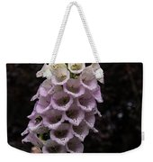 Exquisite Foxgloves Up Close Weekender Tote Bag
