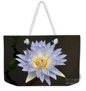 Exquisite Lavender Waterlily Weekender Tote Bag
