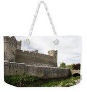 Exterior Of Cahir Castle Weekender Tote Bag