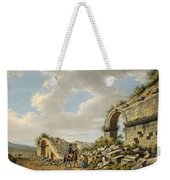 Exterior Of The Ruined Roman Theatre Weekender Tote Bag