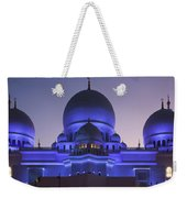 Exterior View Of Sheikh Zayed Grand Weekender Tote Bag