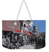 Extras The Great White Hope Set Recreation Reno Nevada July 4th 1910  Weekender Tote Bag