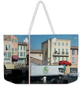 Extreme Stunt Show Walt Disney World 4 Panel Composite Weekender Tote Bag