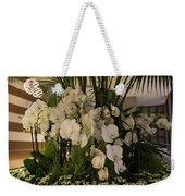 Exuberant Orchid Display Weekender Tote Bag