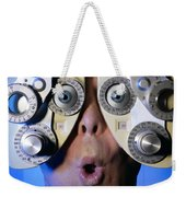 Eye Exam Weekender Tote Bag
