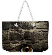 Eye In Brick Wall Weekender Tote Bag