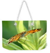 Eye Of The Butterfly Weekender Tote Bag