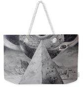 Eye Of The Dark Star - Journey Through The Wormhole Weekender Tote Bag