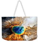 Eye Of The Earth Weekender Tote Bag