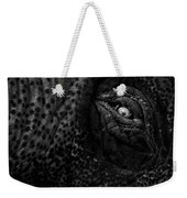 Eye Of The Elephant Weekender Tote Bag by Bob Orsillo