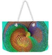 Eye Of The Peacock Orb Weekender Tote Bag