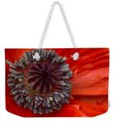 Eye Of The Poppy Weekender Tote Bag