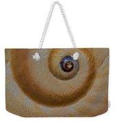 Eye Of The Snail Weekender Tote Bag by Susan Candelario