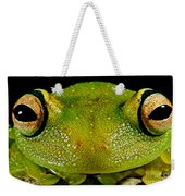 Eye-ringed Bushfrog Weekender Tote Bag