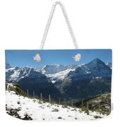 Eyeful Of The Eiger Weekender Tote Bag