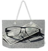 Eyeglasses And Money Weekender Tote Bag