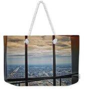 Eyes Down From The 103rd Floor Looking South Weekender Tote Bag