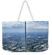 Eyes Down From The 103rd Floor The View From The Ledge Weekender Tote Bag
