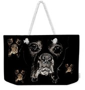 Eyes In The Dark Weekender Tote Bag