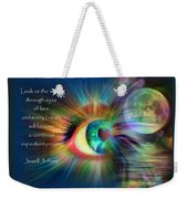 Eyes Of Love Weekender Tote Bag